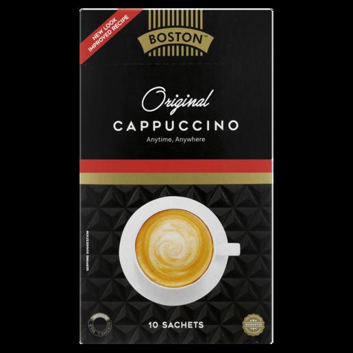 Boston Original Cappucino Sachets 10 Pack