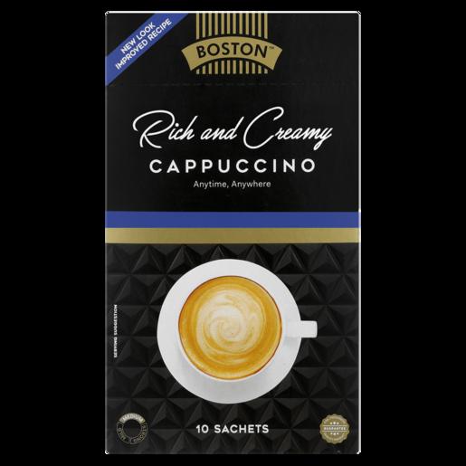 Boston Rich & Creamy Cappuccino Sticks 10 x 17g