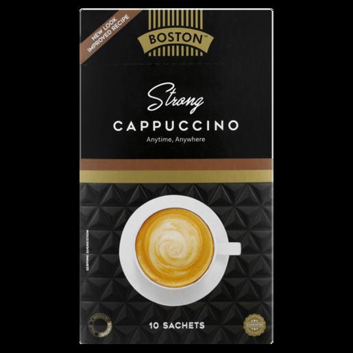 Boston Strong Cappuccino Sticks 10 x 17g