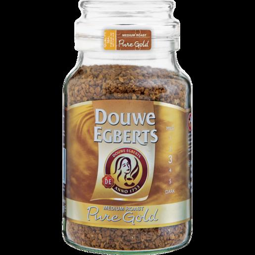 Douwe Egberts Pure Gold Medium Roast Instant Coffee 200g