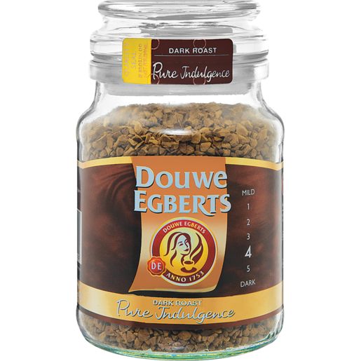 Douwe Egberts Pure Indulgence Dark Roast Instant Coffee 200g