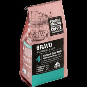 Foreign Ground Bravo Medium Dark Roast Ground Coffee 250g