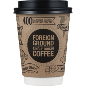 Foreign Ground Cappuccino Coffee 350ml