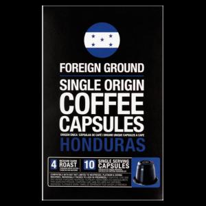 Foreign Ground Honduras Single Origin Coffee Capsules 10 Pack