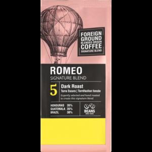 Foreign Ground Romeo Signature Blend Dark Roast Coffee Beans 250g