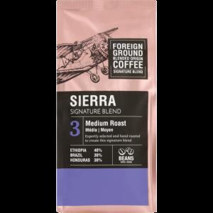 Foreign Ground Sierra Signature Blend Medium Roast Coffee Beans 250g
