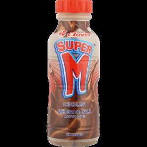 Clover Super M Chocolate Flavoured Milk 300ml