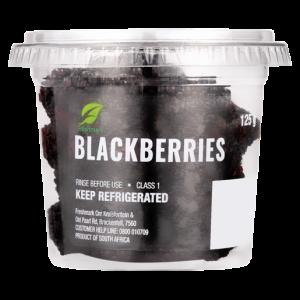 Blackberries Tub 125g