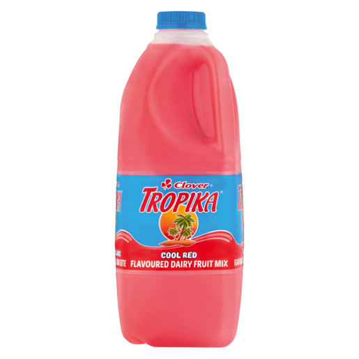 Clover Tropika Cool Red Flavoured Dairy Fruit Juice 2L