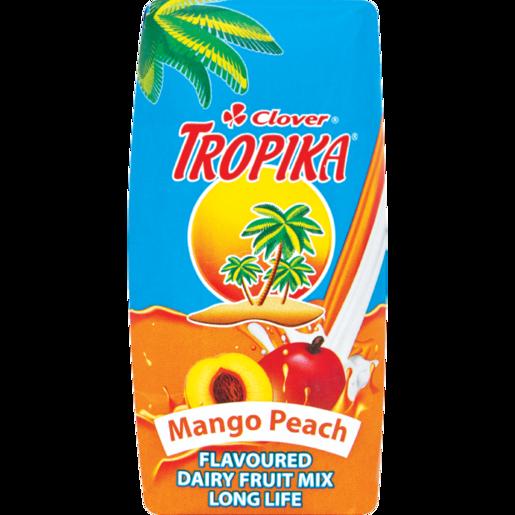Clover Tropika Long Life Peach & Mango Dairy Blend 200ml