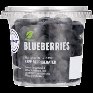 Blueberries Tub 125g