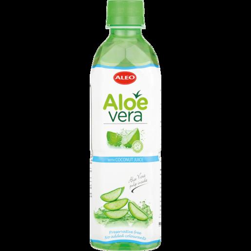 Aleo Aloe & Coconut Flavoured Water 500ml