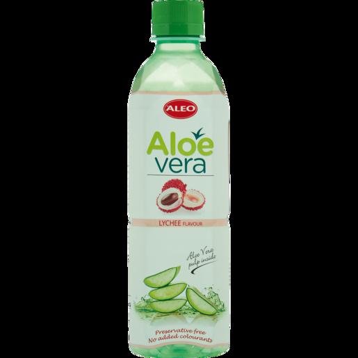 Aleo Aloe Vera & Lychee Flavoured Water 500ml