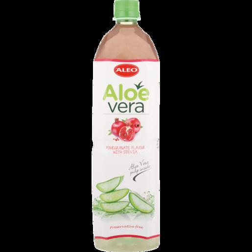 Aleo Aloe Vera & Pomegranate Flavoured Water 1.5L