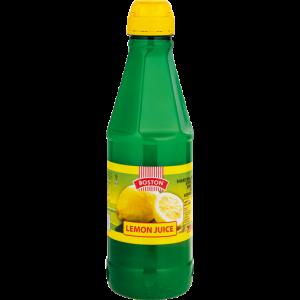Boston Lemon Juice Bottle 750ml