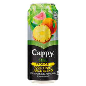 Cappy Still Tropical Flavoured Fruit Juice Can 330ml