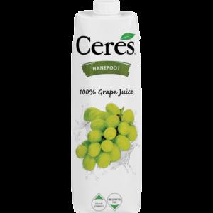 Ceres 100% Hanepoot Grape Juice 1L