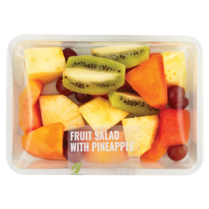 Fresh Cut Fruit Salad With Pineapple Pack 320g