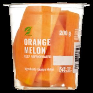 Fresh Cut Orange Melon Pack 200g