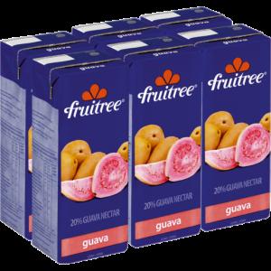 Fruitree Guava Nectar Cartons 6 x 200ml