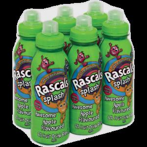 Rascals Splash Apple Flavoured Drink Bottles 6 x 300ml
