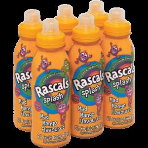 Rascals Splash Mango Flavoured Drink Bottles 6 x 300ml