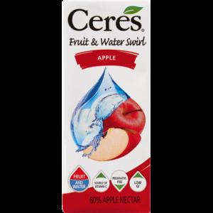 Ceres Apple & Water Swirl Carton 200ml