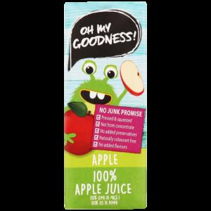Oh My Goodness! 100% Apple Juice 200ml