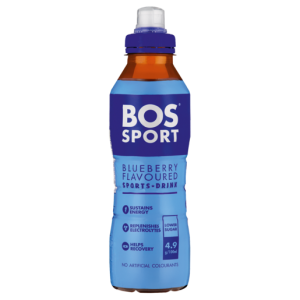 Bos Sport Blueberry Flavoured Sports Drink 500ml