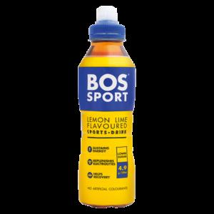 Bos Sport Lemon & Lime Flavoured Sports Drink 500ml