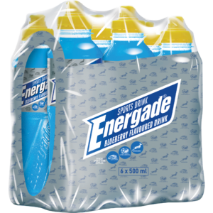 Energade Blueberry Sports Drink 6 x 500ml