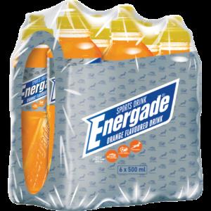 Energade Orange Sports Drink 6 x 500ml