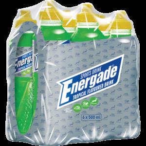 Energade Tropical Sports Drink 6 x 500ml