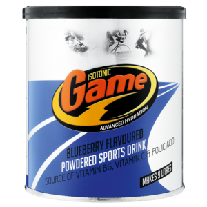 Isotonic Game Blueberry Flavoured Powdered Energy Drink 720g