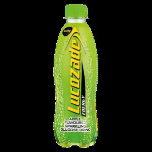 Lucozade Apple Flavoured Energy Drink Bottle 360ml