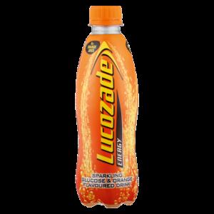 Lucozade Orange Flavoured Energy Drink Bottle 360ml