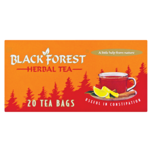 Black Forest Herbal Laxative Teabags 20 Pack