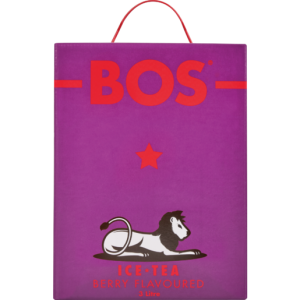 Bos Berry Flavoured Ice Tea Box 3L