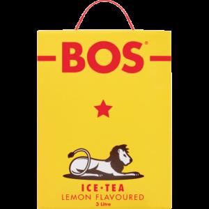 Bos Lemon Flavoured Ice Tea Box 3L