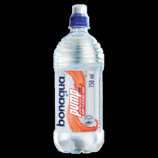 Bonaqua Pump Berry Flavoured Still Water 750ml