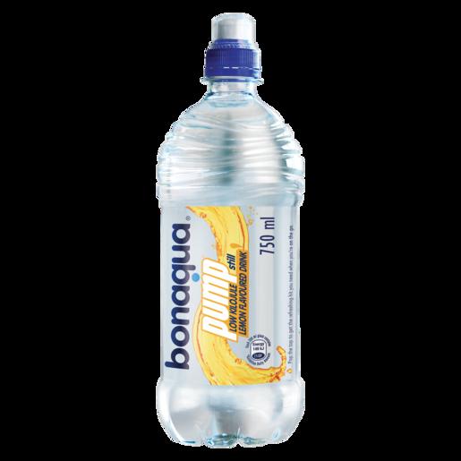 Bonaqua Pump Lemon Flavoured Still Water 750ml