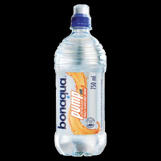 Bonaqua Pump Peach Flavoured Still Water 750ml