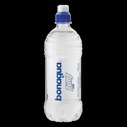 Bonaqua Pump Still Water Bottle 750ml