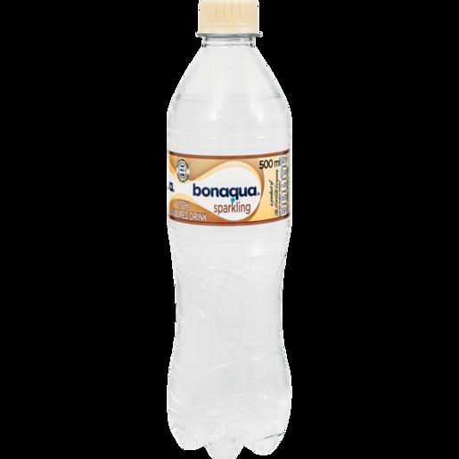 Bonaqua Sparkling Litchi Flavoured Water Bottle 500ml