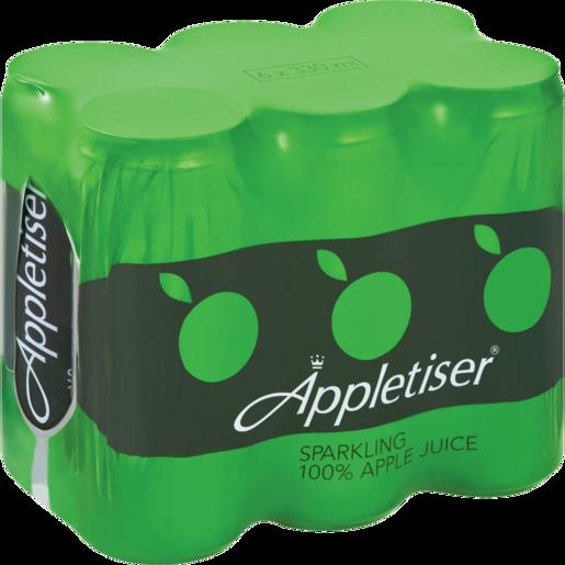 Appletiser Original Sparkling Juice Cans 6 x 330ml