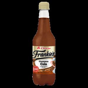 Clover Frankie's Cinnamon Cola Flavoured Sparkling Soft Drink 400ml