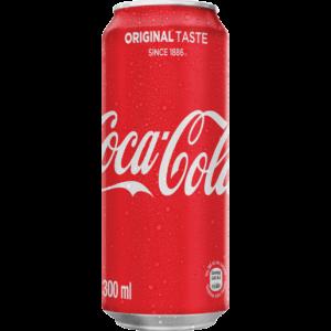 Coca-Cola Original Soft Drink Can 300ml