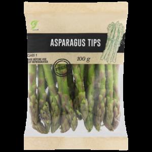 Asparagus Tips Pack 100g