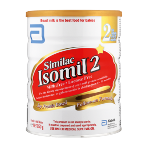 Isomil 2 Soy Protein Based Follow-On Milk Formula Tin 850g