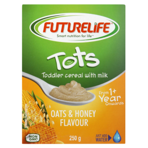 Futurelife Tots Oats & Honey Flavoured Cereal 250g